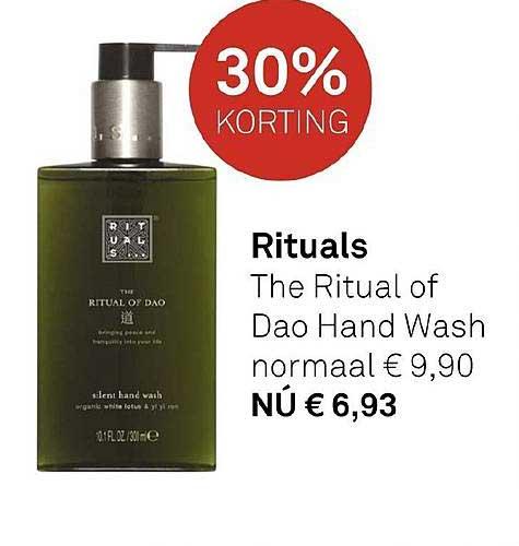 MOOI Parfumerie Rituals The Ritual Of Dao Hand Wash 30% Korting