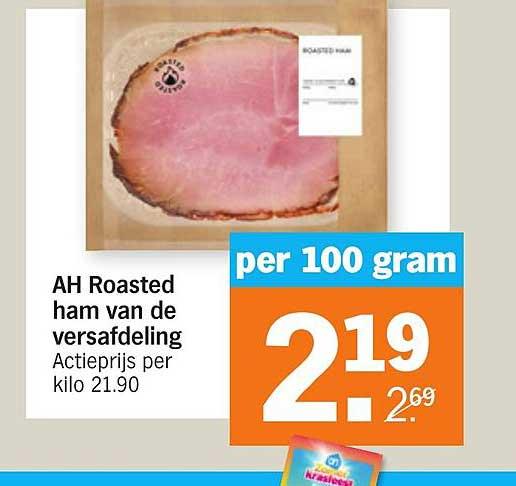 Albert Heijn AH Roasted Ham Van De Versafdeling