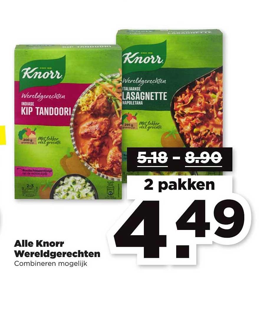 PLUS Alle Knorr Wereldgerechten