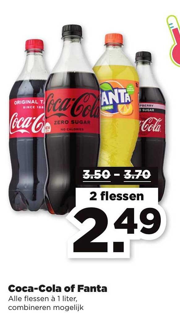 PLUS Coca-Cola Of Fanta