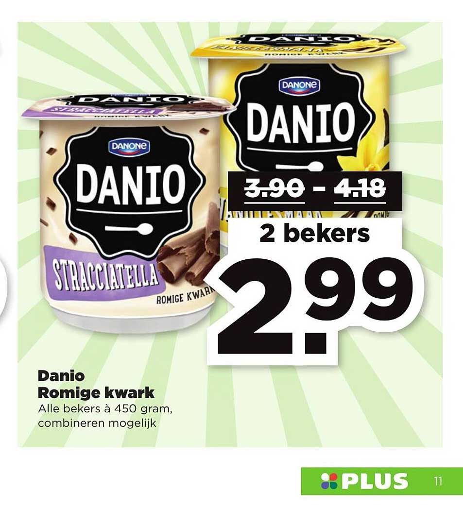 PLUS Danio Romige Kwark