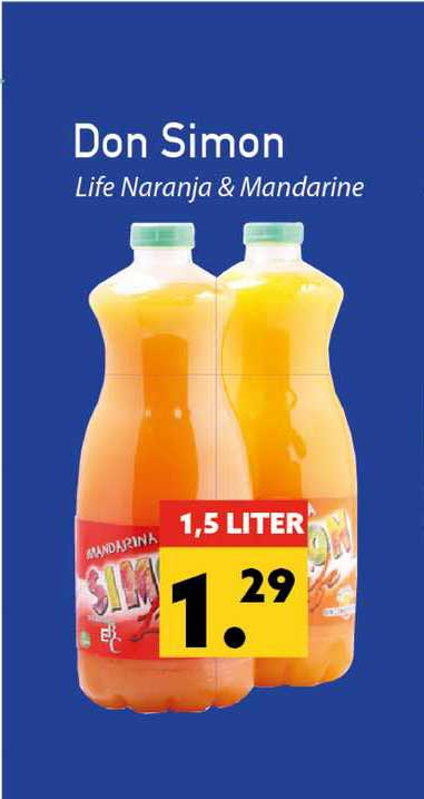 Tanger Markt Don Simon Life Naranja & Mandarine