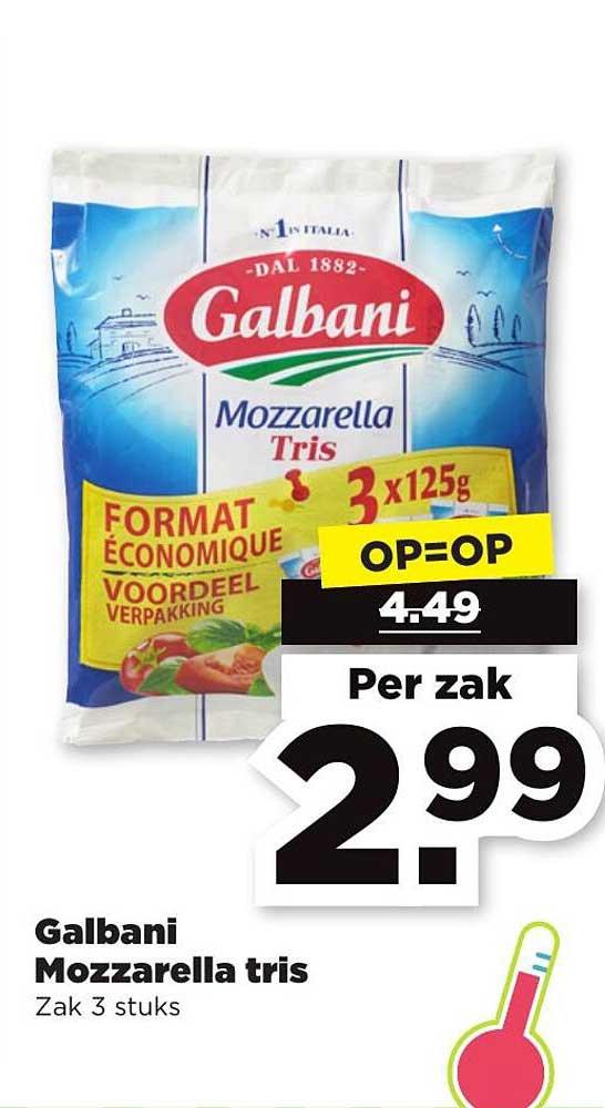 PLUS Galbani Mozzarella Tris