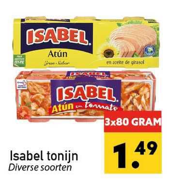 Tanger Markt Isabel Tonijn