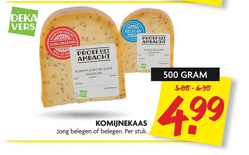 DekaMarkt Komijnekaas Jong Belegen Of Belegen