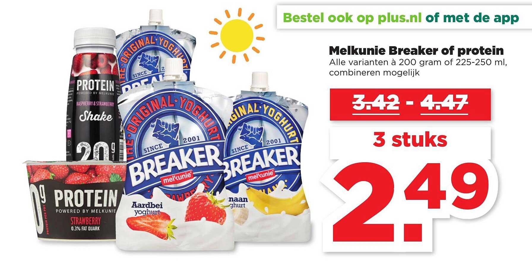 PLUS Melkunie Breaker Of Protein