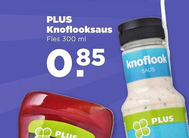 PLUS Plus Knoflooksaus