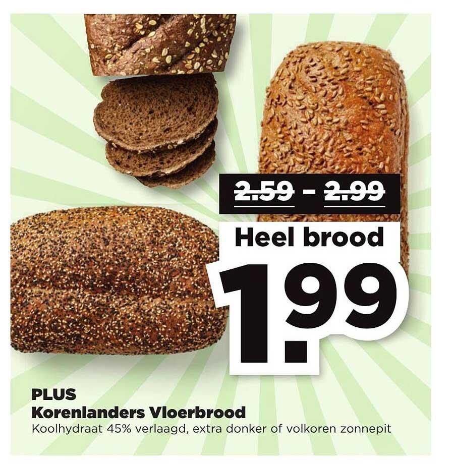 PLUS Plus Korenlanders Vloerbrood