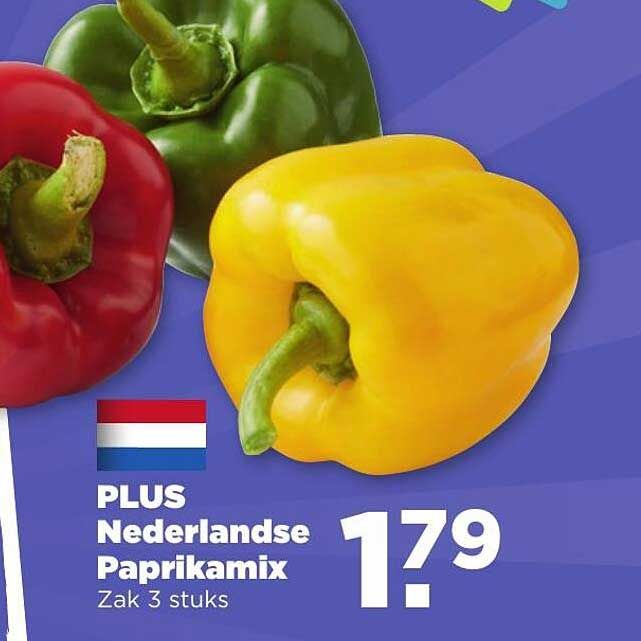 PLUS Plus Nederlandse Paprikamix