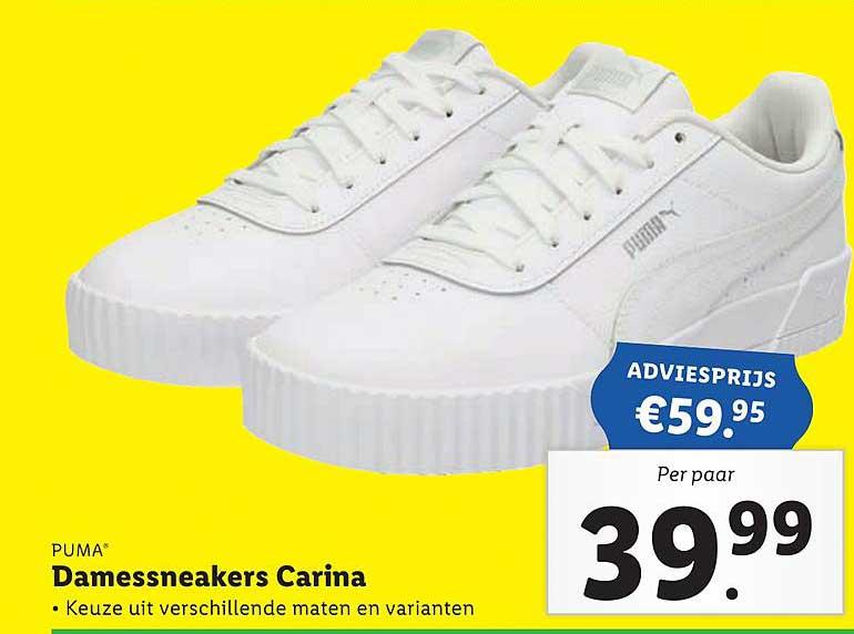 Lidl Puma® Damessneakers Carina