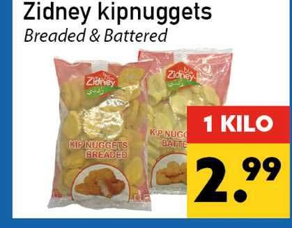 Tanger Markt Zidney Kipnuggets Breaded & Battered