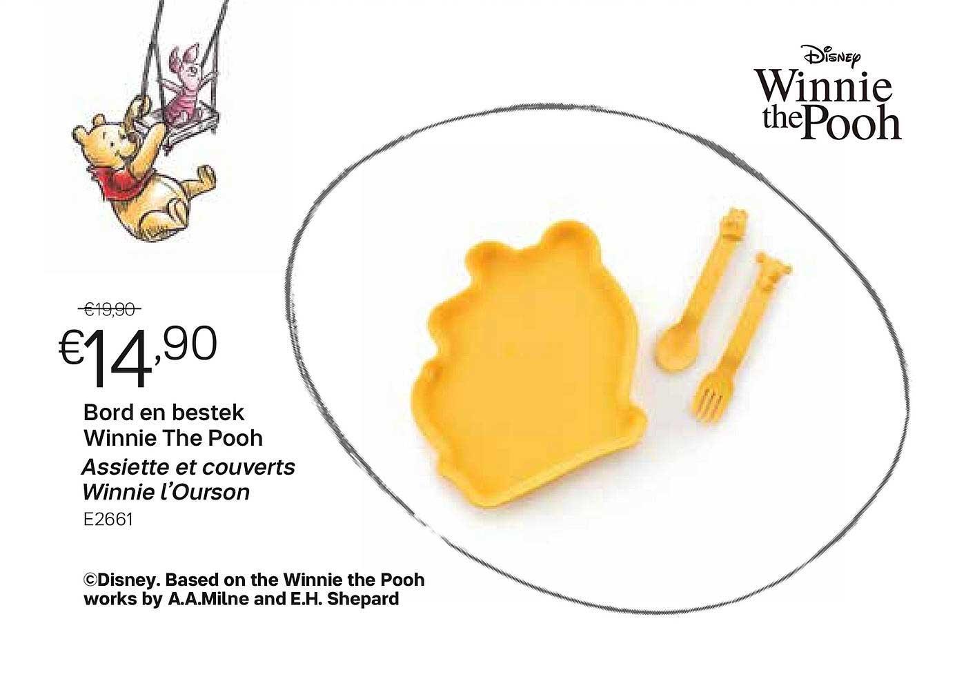 Tupperware Bord En Bestek Winnie The Pooh