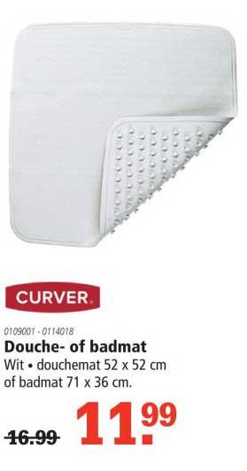 Marskramer Curver Douche Of Badmat