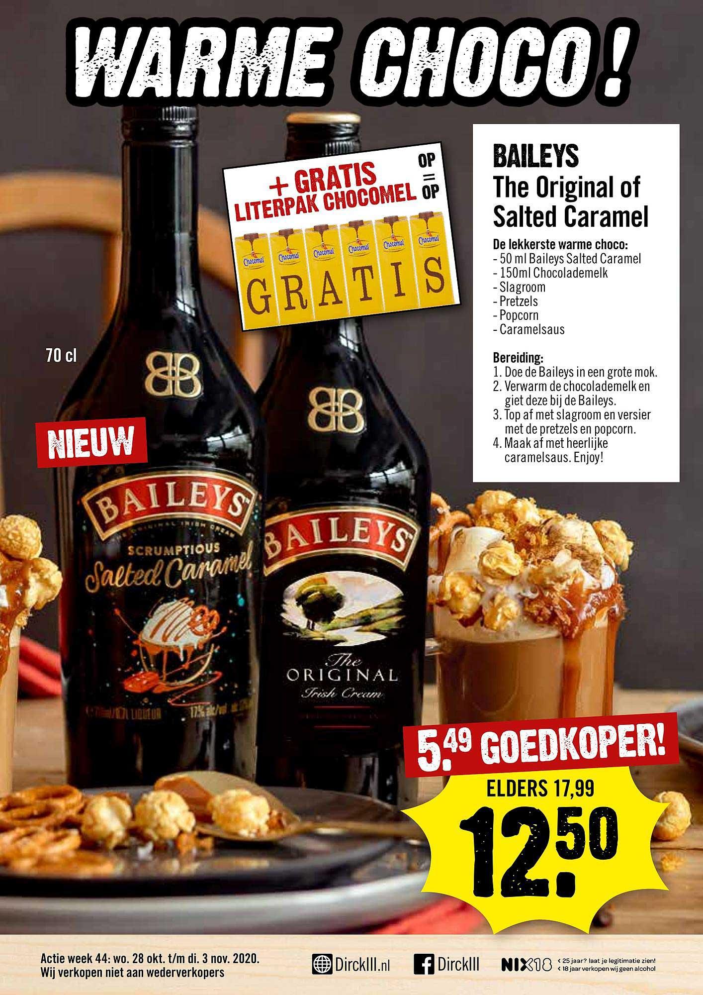 Dirck III Baileys The Original Of Salted Caramel