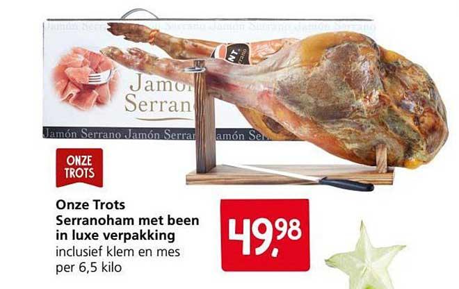Jan Linders Serranoham Met Been In Luxe Verpakking