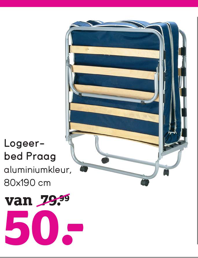 Leen Bakker Logeerbed Praag: €50,-