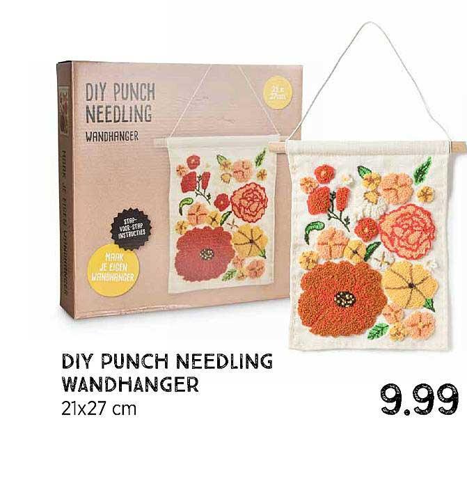 Xenos Diy Punch Needling Wandhanger