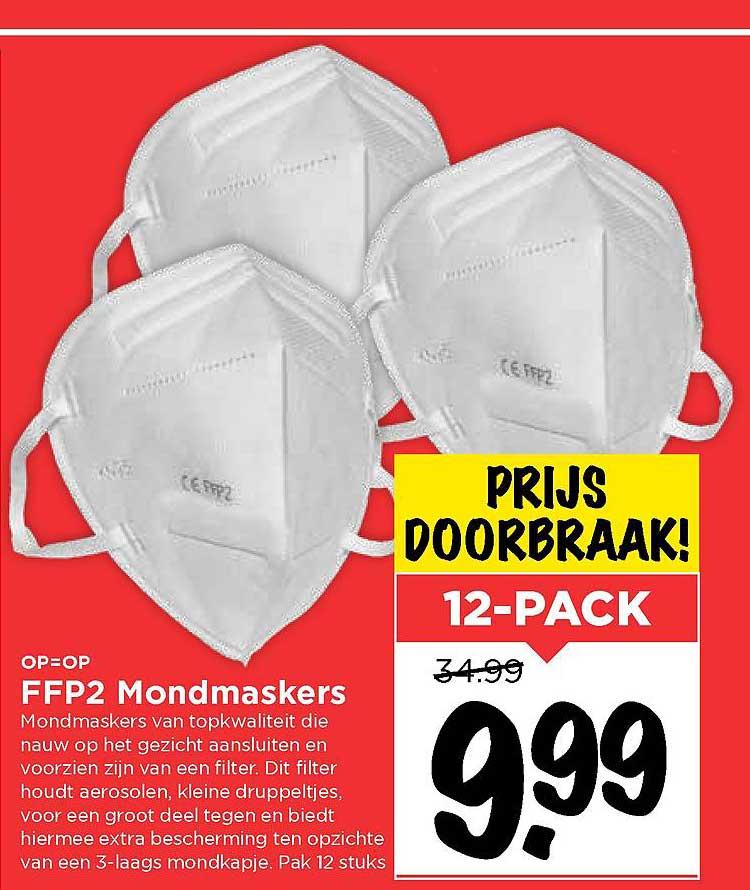Vomar FFP2 Mondmaskers