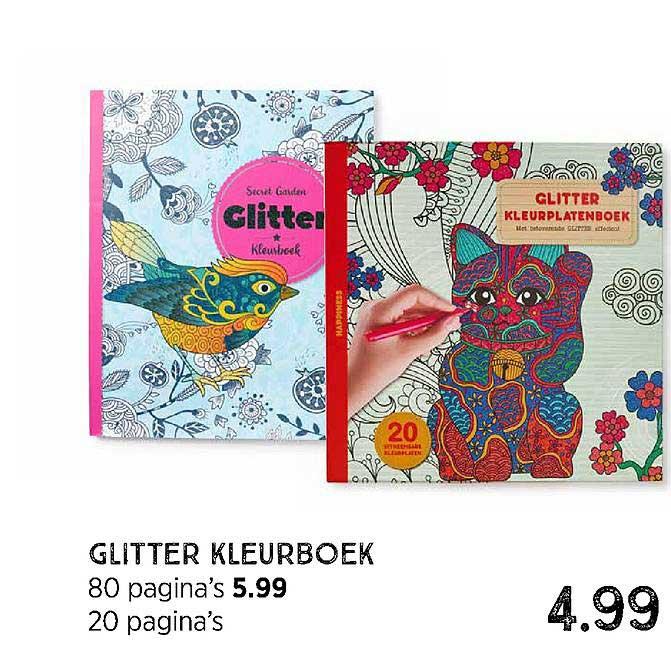Xenos Glitter Kleurboek