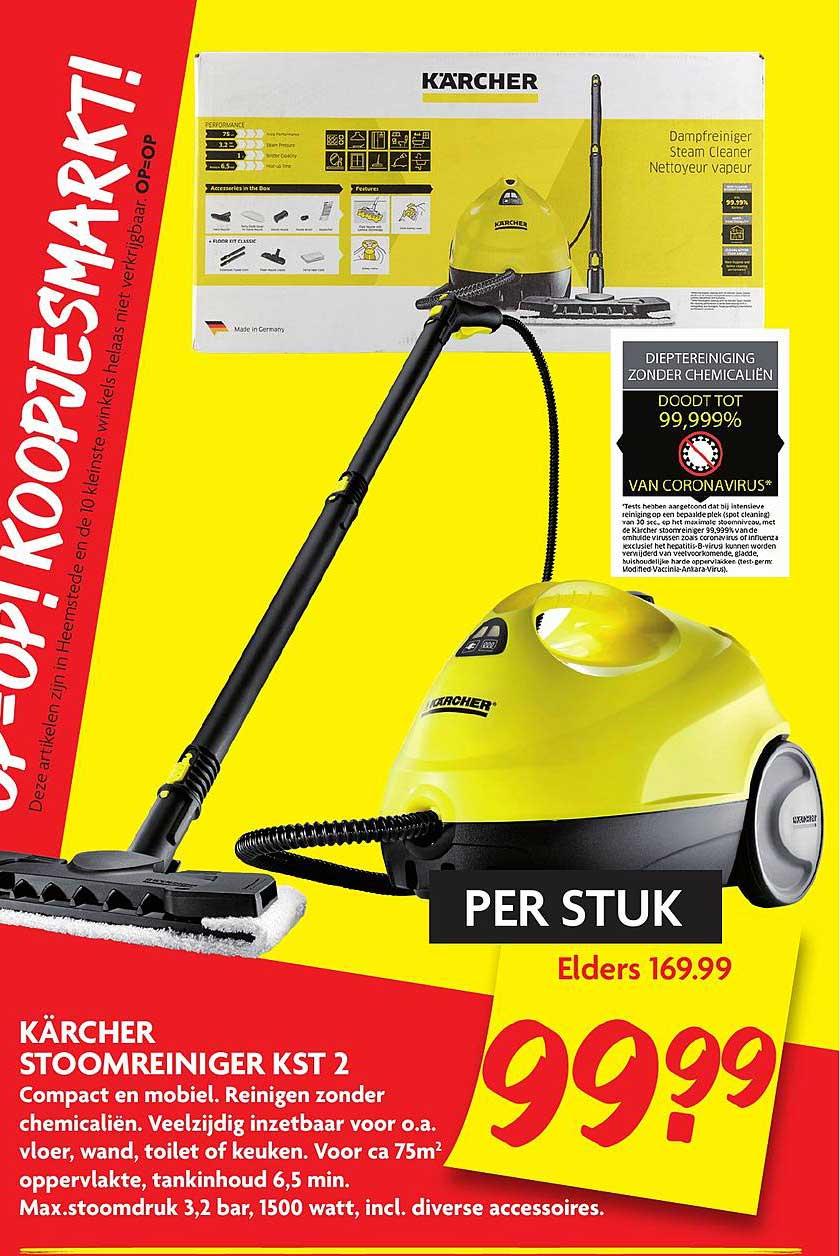 DekaMarkt Karcher Stoomreiniger KST 2