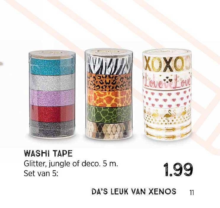 Xenos Washi Tape