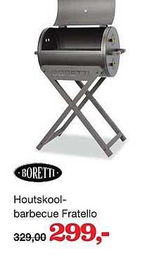 Boer Staphorst Boretti Houtskoolbarbecue Fratello