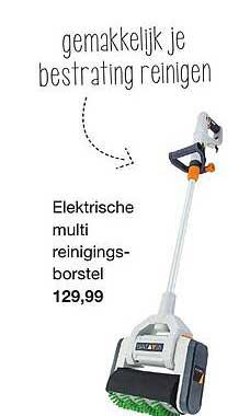 Boer Staphorst Elektrische Multi Reinigingsborstel