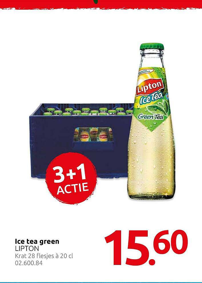 Hocras Lipton Ice Tea Green