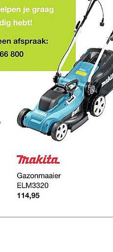 Boer Staphorst Makita Gazonmaaier ELM3320