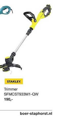 Boer Staphorst Stanley Trimmer SFMCST933M1-QW