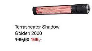 Boer Staphorst Terrasheater Shadow Golden 2000
