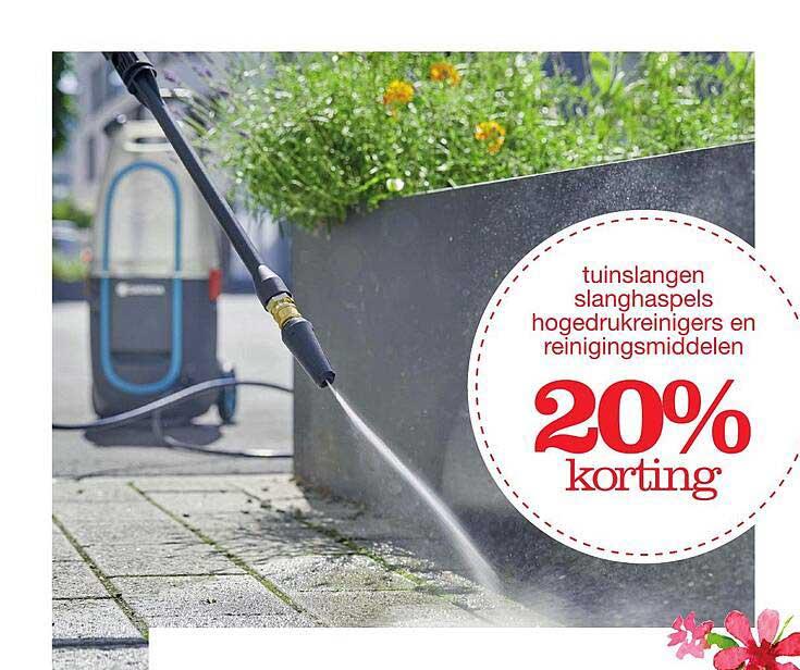 Boer Staphorst Tuinslangen Slanghaspel Hogedrukreinigers En Reinigingsmiddelen 20% Korting
