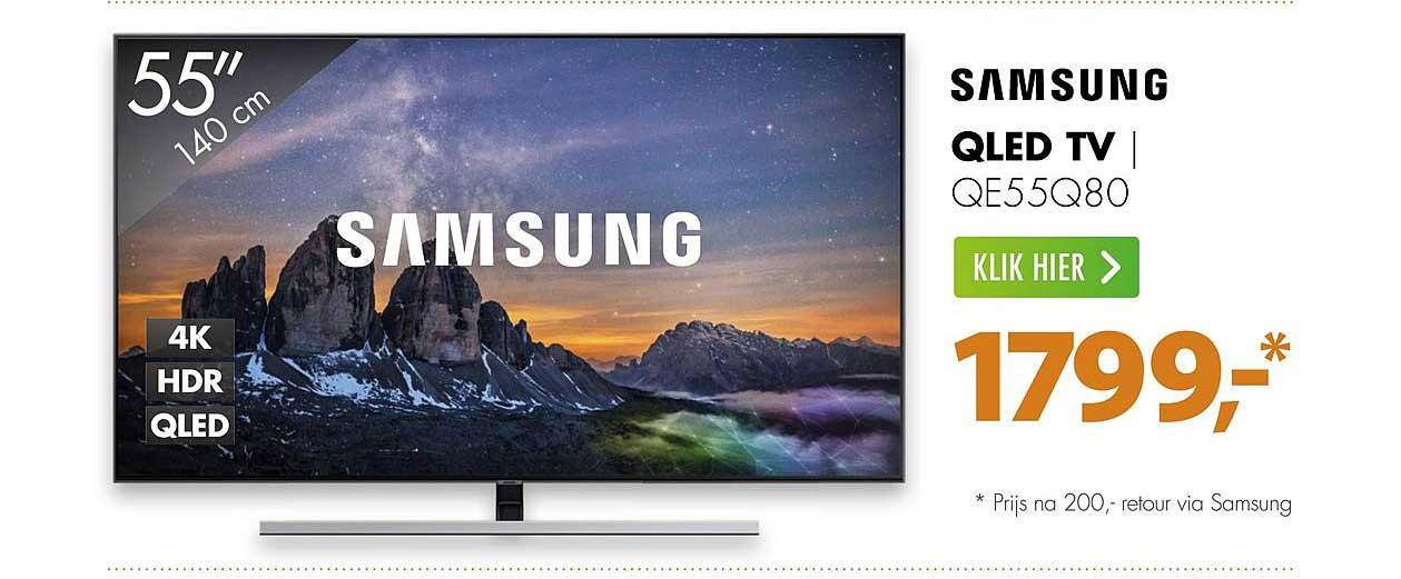 Expert Samsung Qled Tv QE55Q80