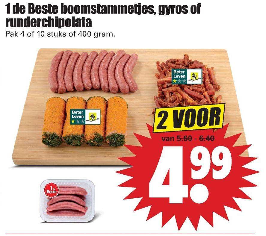 Dirk 1 De Beste Boomstammetjes, Gyros Of Runderchipolata