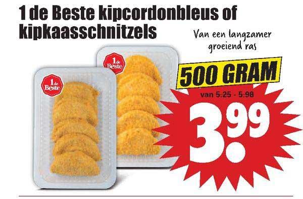 Dirk 1 De Beste Kipcordonbleus Of Kipkaasschnitzels