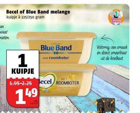 Poiesz Becel Of Blue Band Melange
