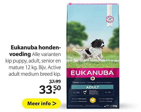 Boerenbond Eukanuba Hondenvoeding