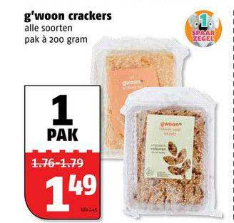 Poiesz G'woon Crackers