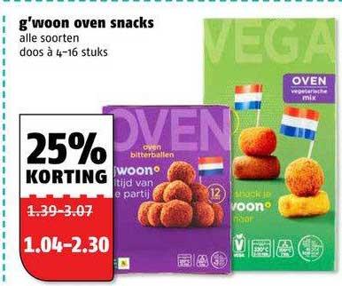Poiesz G'woon Oven Snacks