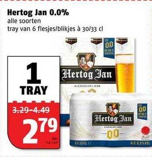 Poiesz Hertog Jan 0.0%