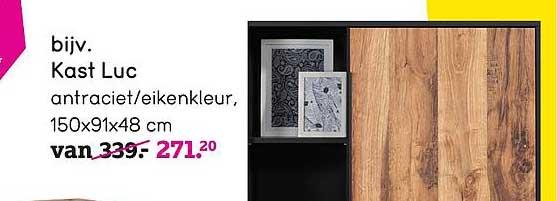 Leen Bakker Kast Luc 150x91x48 Cm