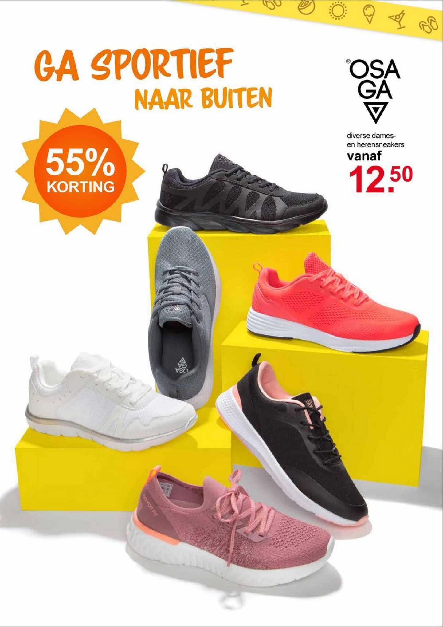 Scapino Osaga Diverse Dames- En Herensneakers 55% Korting