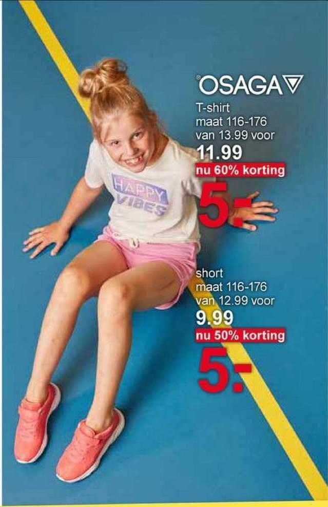 Scapino Osaga T-Shirt Of Short 50% - 60% Korting