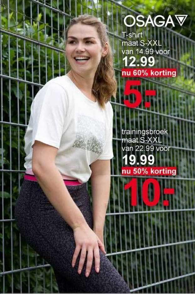 Scapino Osaga T-Shirt Of Trainingsbroek 50% - 60% Korting
