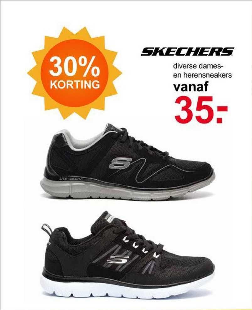 Scapino Skechers Diverse Dames- En Herensneackers 30% Korting