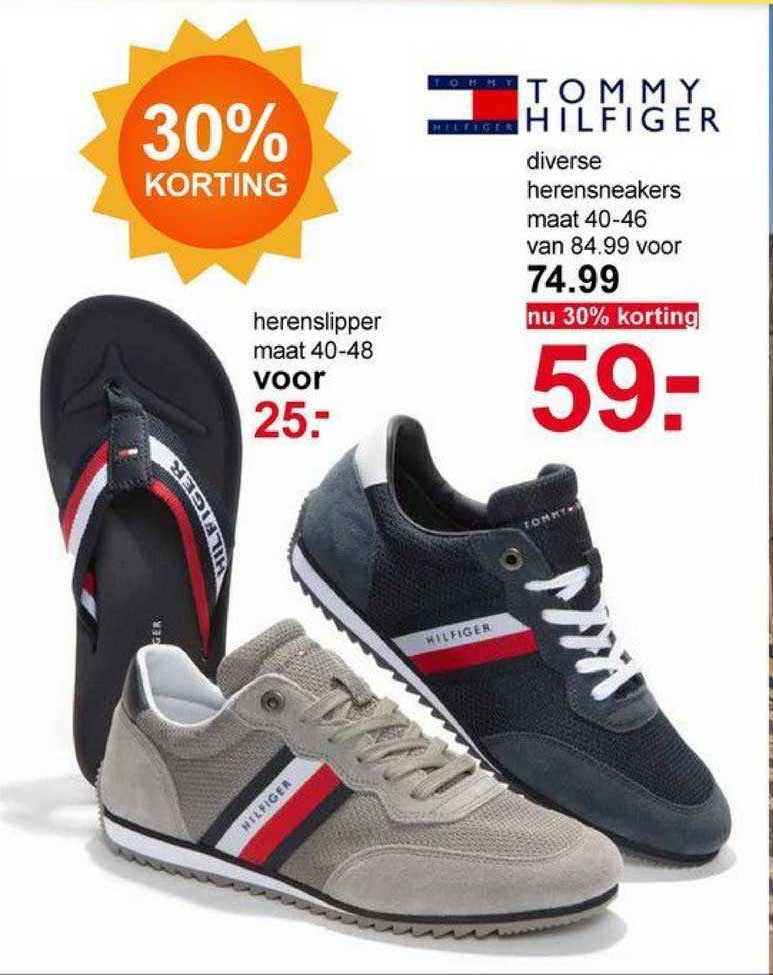 Scapino Tommy Hilfiger Diverse Herensneakers Of Herenslipper 30% Korting