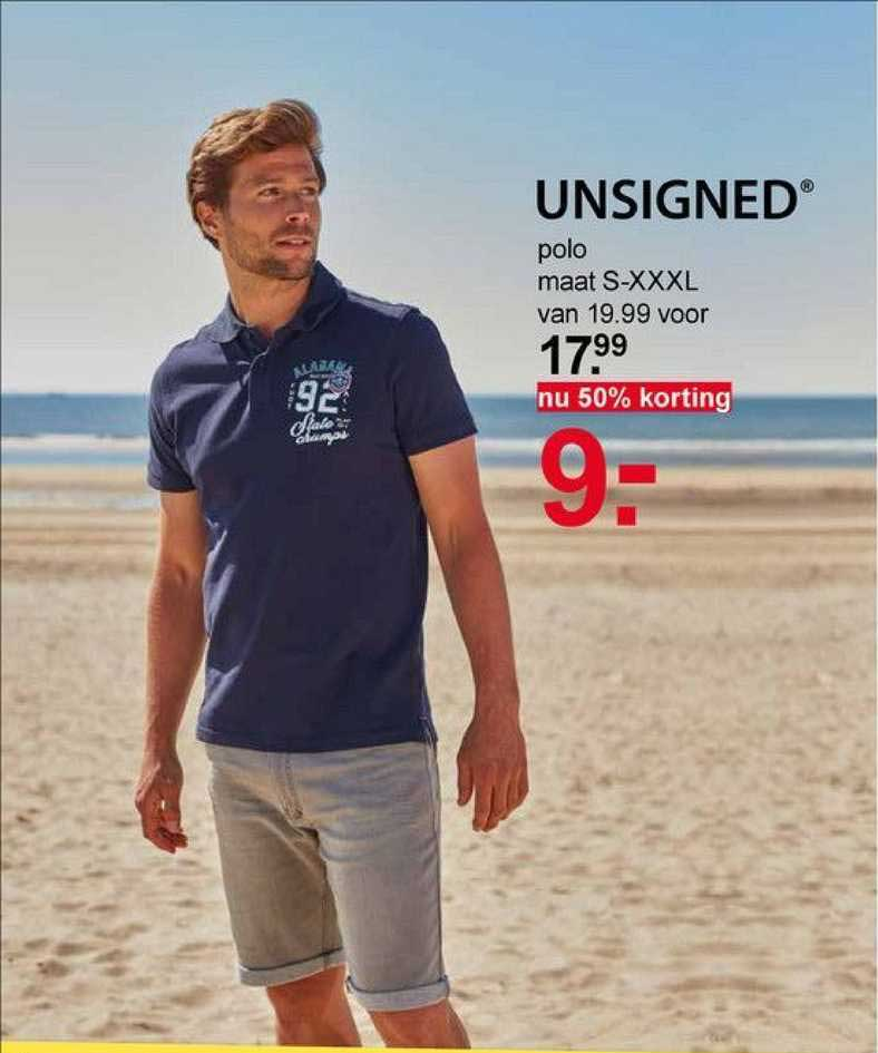 Scapino Unsigned Polo 50% Korting