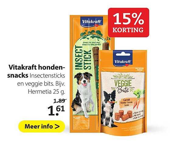 Boerenbond Vitakraft Hondensnacks 15% Korting
