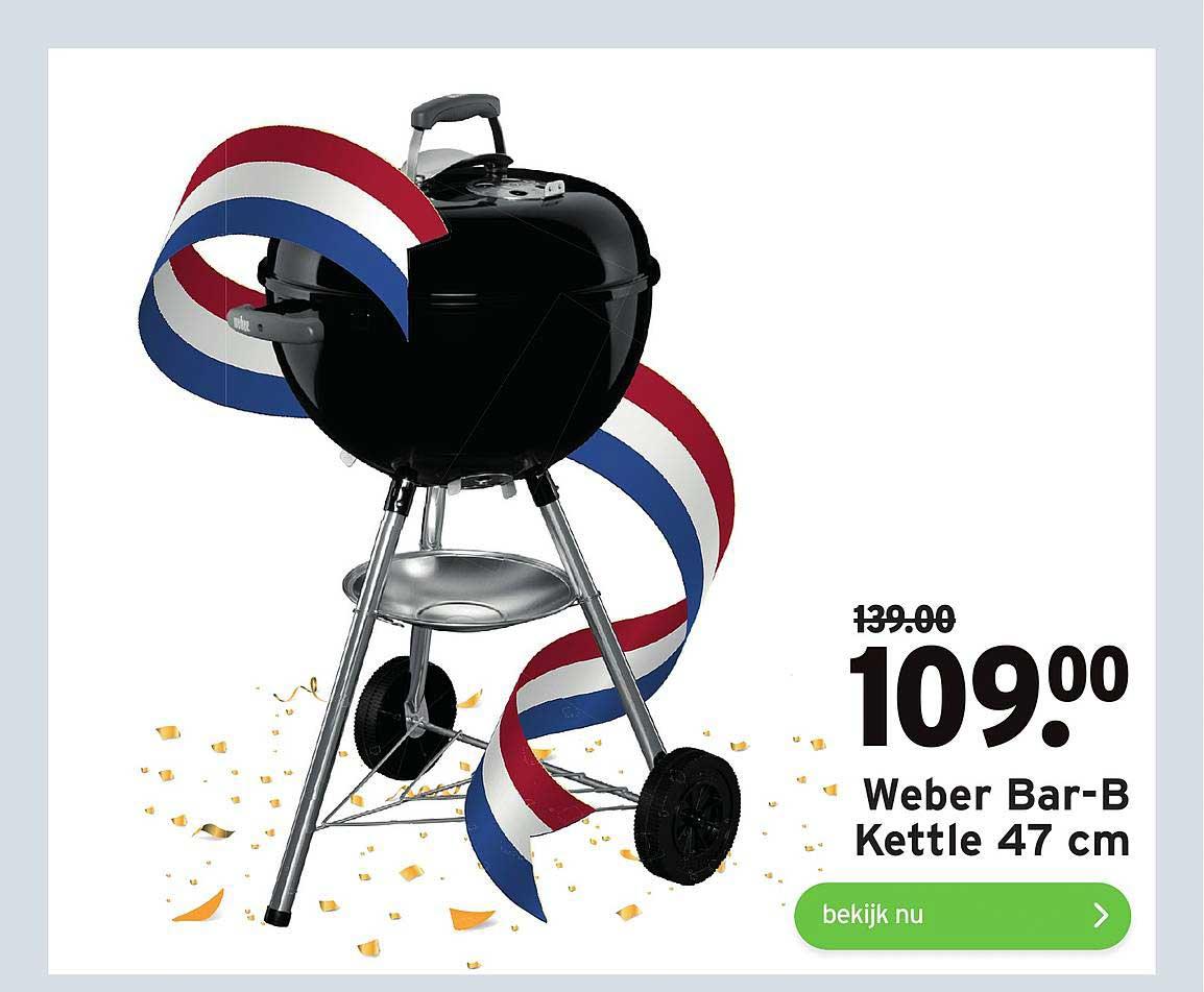 Gamma Weber Bar-B Kettle 47 Cm