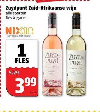 Poiesz Zuydpunt Zuid-Afrikaanse Wijn
